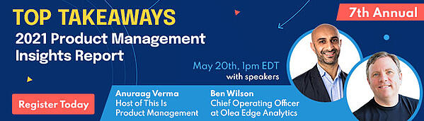 Product Management Insights Reports Webinar