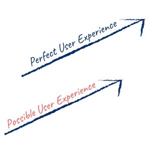 Perfect vs Possible User Experience