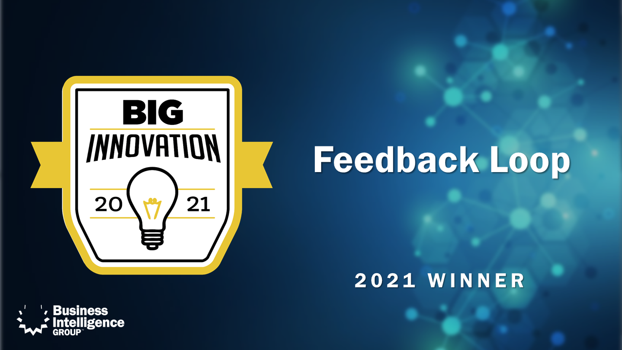 Feedback Loop Wins 2021 BIG Innovation Award